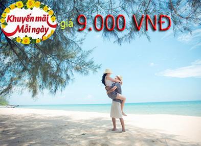 Vé máy bay giá rẻ Hà Nội đi Phú Quốc chỉ từ 9.000 đồng
